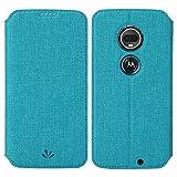 Moto G7/G7 Plus Case, Eastcoo Flip Wallet Cases Flexible PU