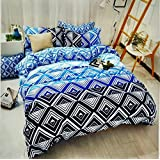 Stunner Home Decorate Premium Quality Designer Cotton 3D Double Bedsheet With Two Pillow Covers (Set Of 3 Pcs) Multicolour