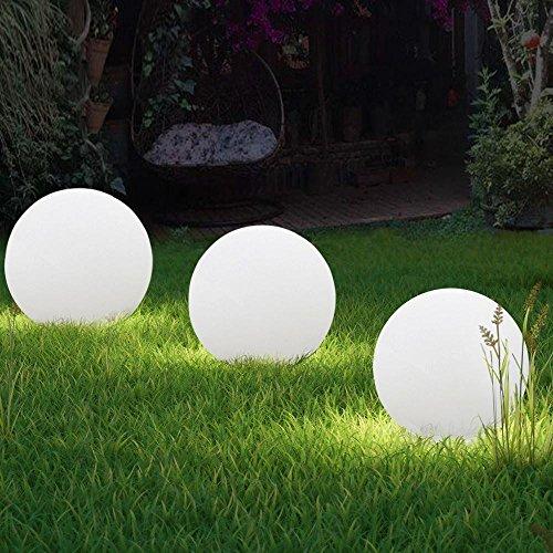 Yahee 3er-Set LED-Solarleuchten Gartenbeleuchtung Garten Außen Beleuchtung Terrasse Solar