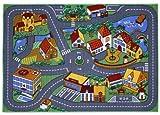 Associated Weavers Spielteppich Stadt 95 x 133 cm Bild 1