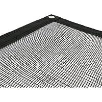 Sodepm 05458-Rete di protezione per piscina, colore: nero, 5 x 9 cm