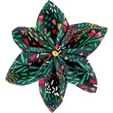 Mum and Dad Pique Sew Barrette Flower Star 4 -  Multicolour - One Size