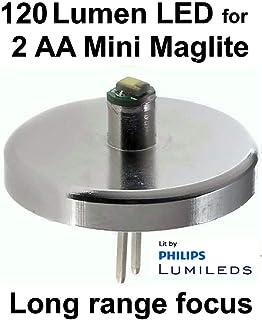 MAGLITE Mini Maglite Gl/ühlampe 2AAA Taschenlampe rot Pr/äsentationsbox