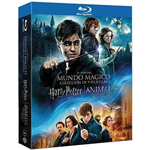 Pack Harry Potter (1-8) + Animales Fantásticos Blu-Ray [Blu-ray] 2
