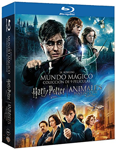 Pack Harry Potter 1-8 + Animales Fantásticos Blu-Ray