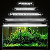 GreenSun 48cm 27LEDs 5050SMD Aquarium Tube Luminaires D'éclairage étanche IP68 Fish Tank Blanc Lumière Submersible