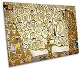 Leinwand Geeks Gustav Klimt der Baum des Lebens Single Bild auf Leinwand Kunstdruck, 75cm Wide x 50cm High