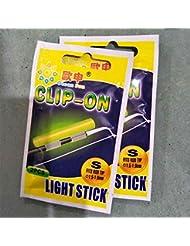 Forfar fluorescente pesca 2pcs Night Rod Light lightsticks Varilla luminosa iluminación nocturna Brillar en oscuridad pa