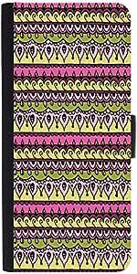 Snoogg Aztec Pinkdesigner Protective Flip Case Cover For Lg G3