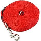 [ JBS Basics ] Schleppleine 5 oder 10 m Laufleine für Hunde Fährtenleine Suchleine Hundeleine (► 10 Meter, rot)