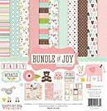 Echo Park Paper Papier Collection Kit 12Zoll x 12Zoll, Bundle of Joy Girl