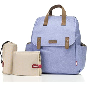 aa210f8142f Babymel Robyn Convertible Backpack Changing Bag, Bluebell: Amazon.co ...