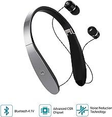 Portronics Harmonic 200 POR-931 Wireless Stereo Headset (Grey)