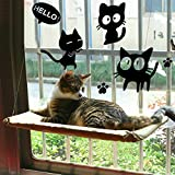 Gatto Amaca Finestra / Pertica per Prendere il Sole, COUTUDI Confortevole Riposo Addormentato Letto per Gatto Grande Gattino di Fino a 33 Libbre