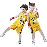 Camiseta 23# para niños, camiseta de verano de Bulls Jordan# 23 / Lakers James# 23 como, camiseta de verano para niños y niña