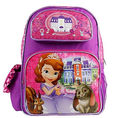 Disney The Princess Sofia Large Backpack 16