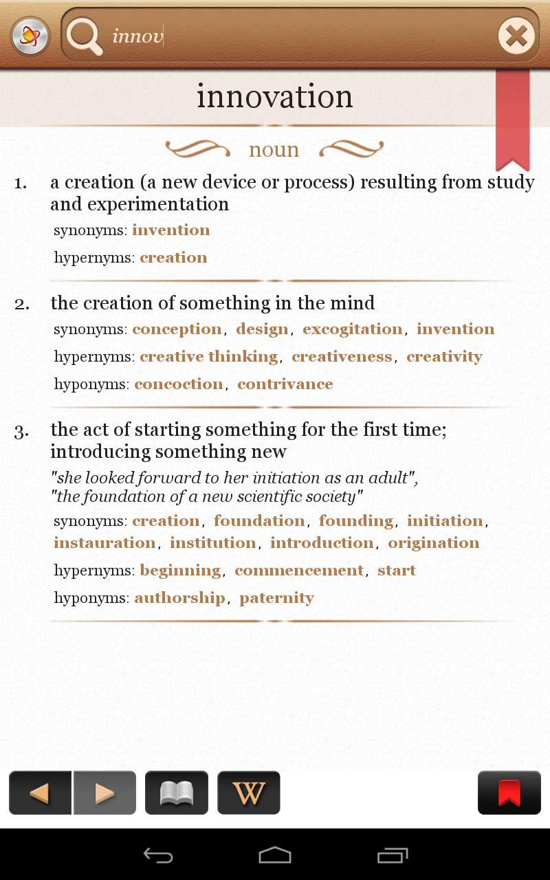 Dictionary+ Free: English Dictionary & Thesaurus