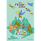 99 piece jigsaw puzzle Petit Light Yume no toki - Peter Pan - (10x14.7cm) by Yanoman