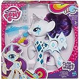 My Little Pony - Rarity luces y destellos, figura con accesorios (Hasbro B0367EU4)