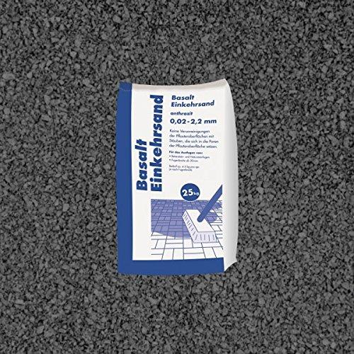 Basalt Einkehrsand 25 kg Sack