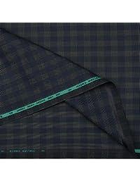 Raymond Men's Unstitched PV Suit Fabric (GANU0492-3M, Blue , 3M)