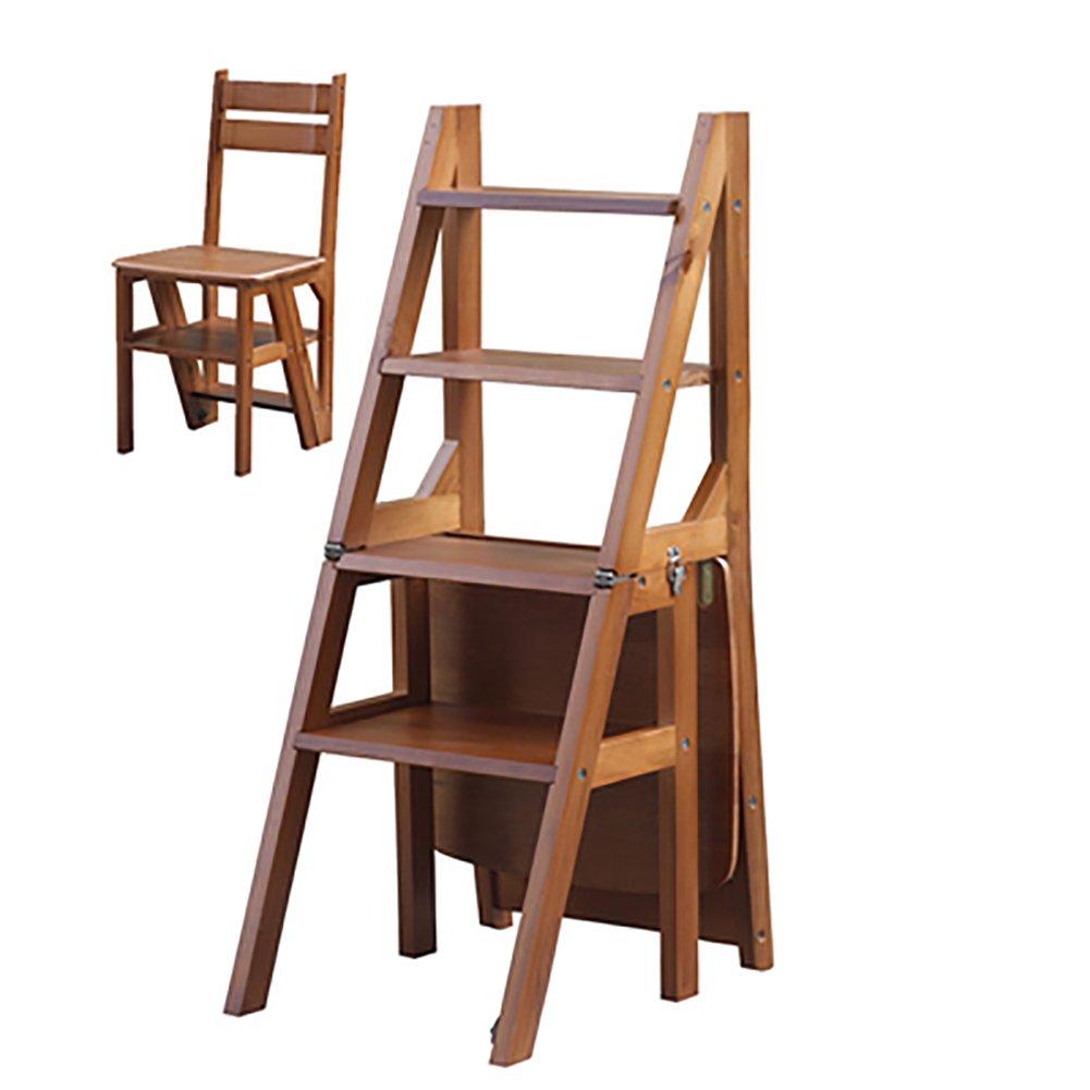 Sgabello Scaletta Pieghevole.Rfjjal Sgabello Ladder In Legno Massello Sgabello Scaletta Pieghevole In Legno A Due Gradini Da Cucina Sgabello A Tre Livelli Con Scala A Doppio Uso