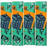Best Gifts For A Doctors - Doctor Who Gift Wrapping Paper - 4 Pack Review