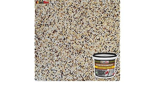 Quarzgrund 1,5 kg 10kg Absolute ProfiQualit/ät Buntsteinputz Mosaikputz BP40 braun, weiss, gelb