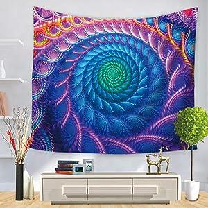 Tapestry Hippie Wandteppich, Morbuy Tapisserie Mandala Design Motiv Wandbehang Wandtuch Tischdecke Meditation Strandtuch…
