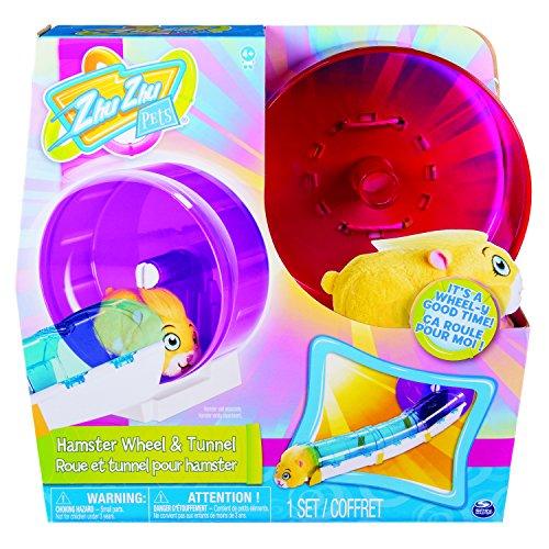 Spin Master 6040191-ZhuZhu Pets-hámster de Rueda con túnel