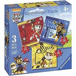 Paw Patrol - Puzzle progresivo (Ravensburger 07057 2)