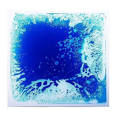 Royllent Liquid Flooring Tile,Wide-range in application,dancing,children area using,stage floor,night bar,bath mat,non-slip mat (Blue) by Royllent