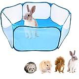 Fsskgxx - Tienda de campaña para pequeños animales y parque portátil abierto para recintos para animales domésticos para coba