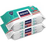 Neko Germ Protection Wipes 80S Lid Pack Of 2