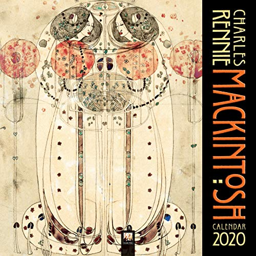Charles Rennie Mackintosh 2020: Original Flame Tree Publishing-Kalender [Kalender] (Wall-Kalender)