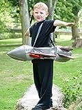 Fancy Me Kinder Ride on Rocket Space TV-Filmschiff Karneval Faschingskostüm Outfit
