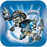Skylanders Dessert Plates - Birthday and Theme Party Supplies - 8 Per Pack by SmileMakers Inc