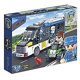 BanBao 7003 - Polizei Transporter, Konstruktionsspielzeug