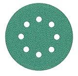 1 Stück 125 mm Exzenter Schleifscheiben, passend für Bosch GEX 125-1 AE P240 Körnung, passend für Bosch GEX 125-1 AE green Film