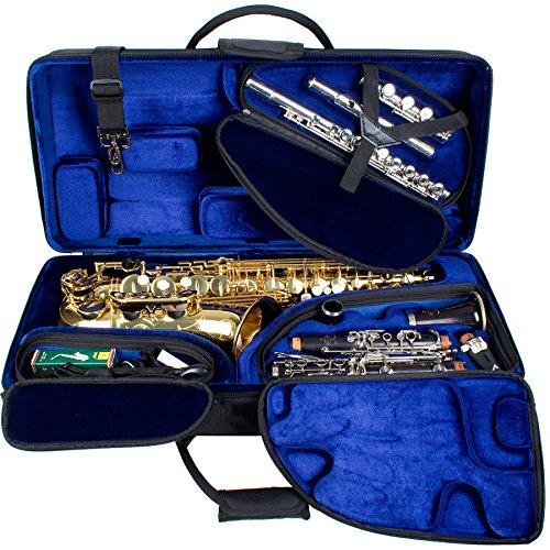 Protec pbtrialt Schutzhülle Saxophon/Klarinette/Flöte Alto schwarz