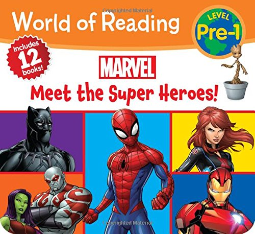 Marvel Meet the Super Heroes! (World of Reading: Level Pre-1)
