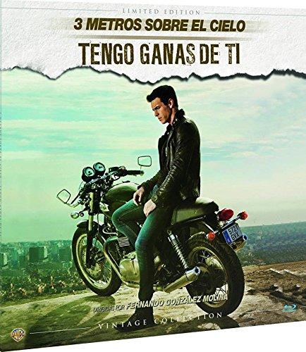 3 Metros Sobre El Cielo + Tengo Ganas De Ti Colección Vintage (Funda Vinilo) Blu-Ray [Blu-ray] 615CvanG9JL