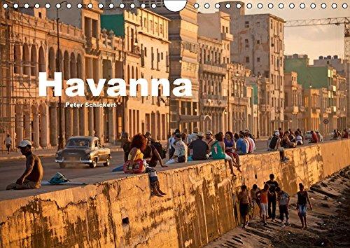 Havanna (Wandkalender 2019 DIN A4 quer): 13 Fotos aus der kubanischen Hauptstadt (Monatskalender, 14 Seiten) (CALVENDO Orte)