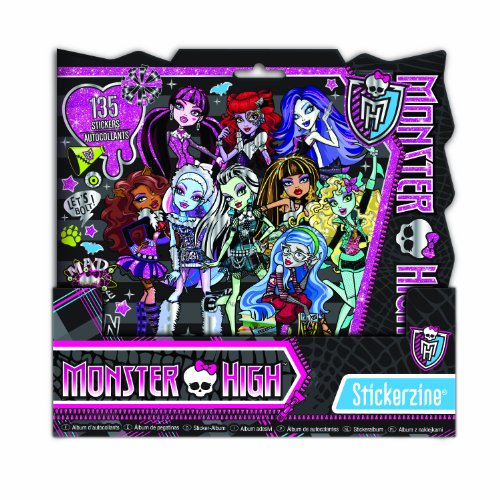 Monster High Stickerzine Monster High Sticker