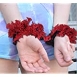 Vango Creations Soft and Trusted Handcuff Pink Hand Cuffs for Boys and Girls Night Games DIY