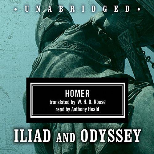 Homer Box Set: Iliad & Odyssey  Audiolibri