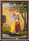 Tallenge Enchanting Krishna Wall Calendar 2018