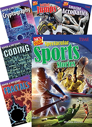 Time Middle School Math Set (Time for Kids - Nonfiction Readers) (School Englisch-lehrbuch Middle)