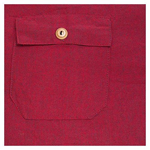 Pantalons de coton colorés. Matière fraîche légère. Plain Red