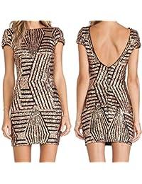 Amazon.it  Oro - Casual   Vestiti  Abbigliamento 6e2478b91df